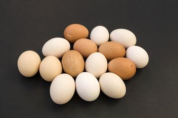 natural village hen egg for health.