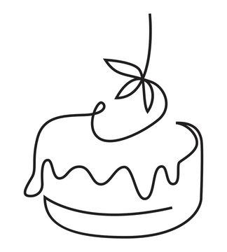 Cake one line
