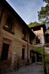 Tourist destination in northern Italy, Grazzano Visconti