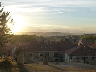 Castillo de Peñafiel,villa y pueblo de España en la provincia de Valladolid, en la comunidad autónoma de Castilla y León cercana a provincia de Burgos (España)
