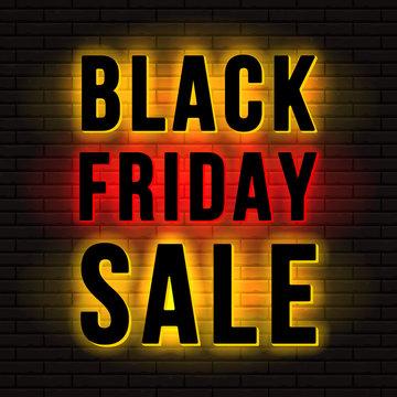 Black Friday Sale Signboard