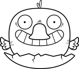 Cartoon Duckling Hatch