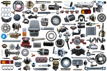 set of new auto spare parts