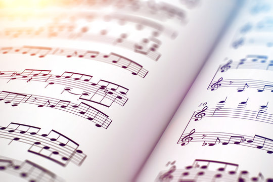 Score sheet music book