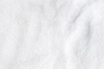 soft white texture of bath towel folded like background
