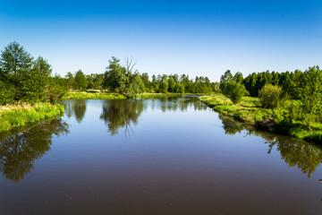 Dziko płynąca rzeka w środkowej Polsce