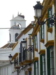Almonte pueblo español de la provincia de Huelva, Andalucía (España) conocido por la romeria de El Rocio junto a Doñana