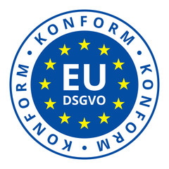 EU-DSGVO Konform illustration