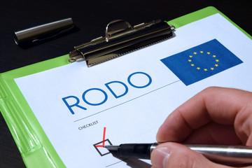 RODO. GDPR. Ustawa o ochronie danych osobowych.
