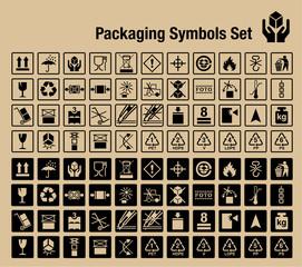 Packaging Symbols Set