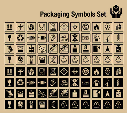 Packaging Symbols Set