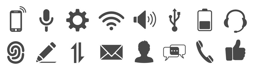 Set icons for phone – for stock