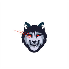 angry wolf team logo