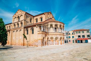 Church of Santa Maria e San Donato in Murano island, Venice, Italy