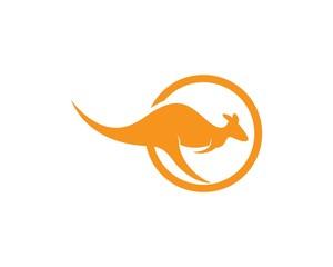 kangaroo Logo Template