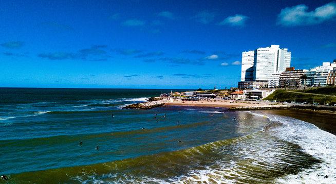 Playa Varese, Mar del Plata, Argentina