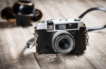 Retro lens foto camera