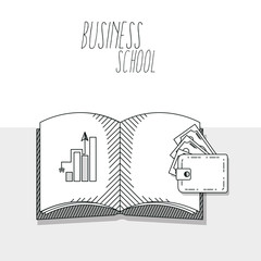 Hand draw business school