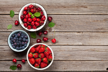 Fresh summer berries