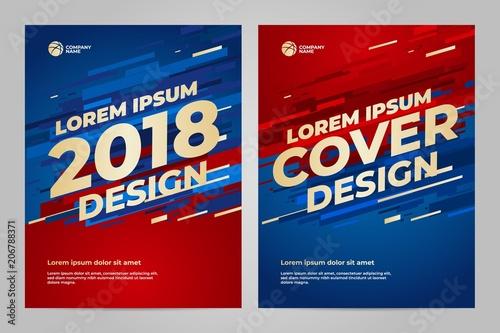 layout template design for sport fotolia com の ストック画像と