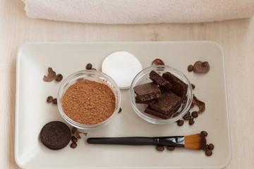 Chocolate Spa ingredients