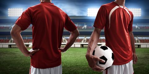 Soccer player uniform