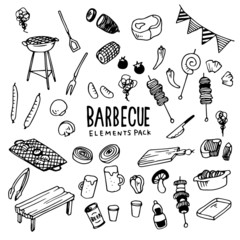 Barbecue Illustration Pack