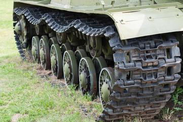 Caterpillar of military tank