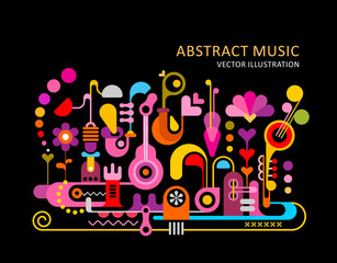 Abstract Music Background