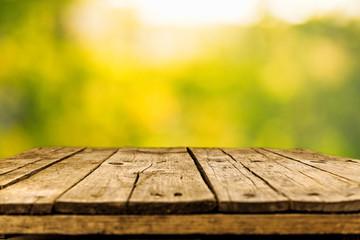 Fotoväggar - Old wood background