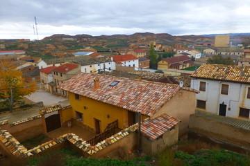 Monteagudo de las Vicarías, villa histórica de la provincia de Soria, partido judicial de Almazán, Comunidad Autónoma de Castilla y León, España