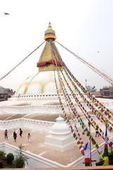 Boudhanath Stupa at Kathmandu - Nepal