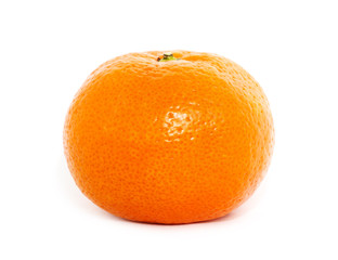 Orange fruit, tangerine,citrus isolated on white background.