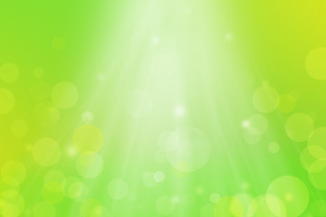 Summer Spring Background Bokeh Gradient Green with Sunlight. Can use Sale sign, flyer, poster, shopping, card, website, party, promotion.