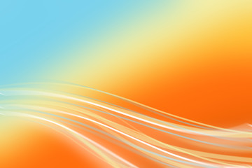 Abstract Background. Gradient Blur Orange and Blue. Can use Sale sign, flyer, poster, shopping, card, website, party, promotion.