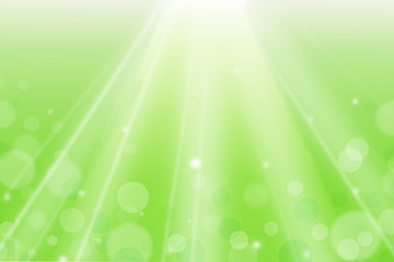 Summer Bokeh Background. Color Green with Spotlight. Can use Sale sign, flyer, poster, shopping, card, website, party, promotion.