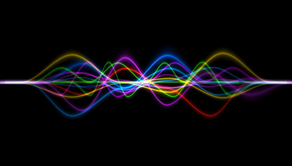 frequency audio music equalizer digital . music player waveform, hud for sound technology or tune...