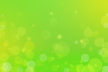 Summer or Spring Background. Gradient Green with bokeh. Can use Sale sign, flyer, poster, shopping, card, website, party, promotion.
