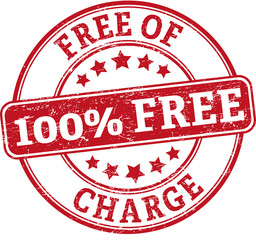 100% free of charge round textured rubber stamp