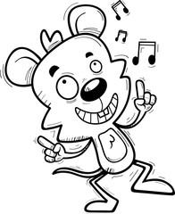 Cartoon Male Mouse Dancing