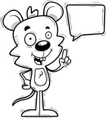 Cartoon Male Mouse Talking