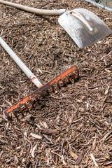 Putz und Gartenwerkzeuge