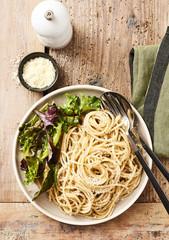 Spaghettis pécorino
