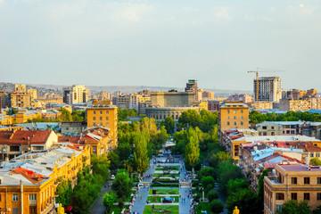 Yerevan skyline, Armenia