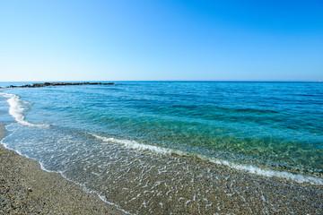 Playa de Torremuelle, Benalmadena, Andalusia, Spain