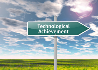 Signpost Technological Achievement