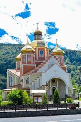 Church of the Nativity of John the Baptist (Tserkov Rozhdestva Yoanna Krestytelia), Yaremche , Carpathians, Ukraine