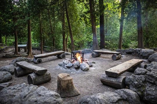 Cooking Fire Awaits