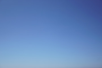 light blue sky background