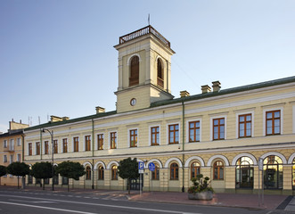 Town hall in Suwalki. Poland